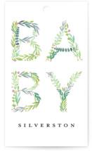 Gentle Foliage Letters by Petra Kern