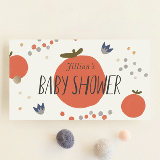 Birds and the Bee Baby Shower Favor Tags