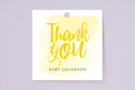 You Are My Sunshine Baby Shower Favor Tags