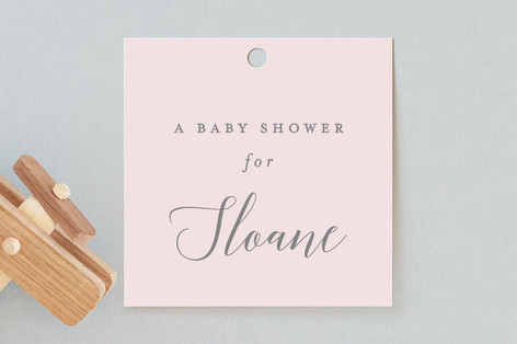 Sprinkle Baby Shower Favor Tags