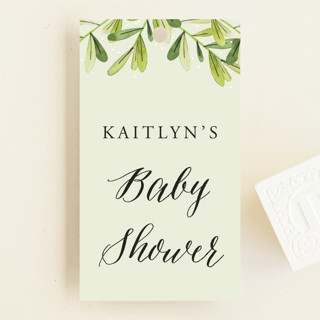 Nested Spring Baby Shower Favor Tags