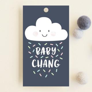 Cloud Nine Baby Shower Favor Tags