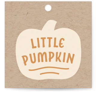 Little Pumpkin Baby Shower Favor Tags