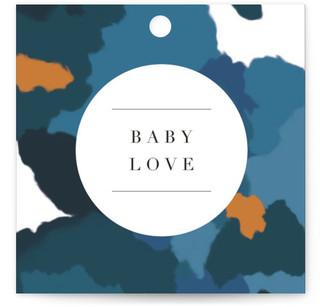 Parfum Baby Shower Favor Tags