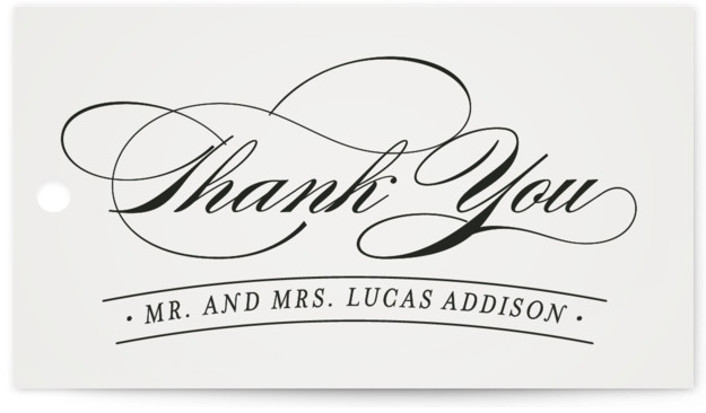 This is a landscape grey Wedding Favor Tags by Hooray Creative called Big City Sydney with Standard printing on Signature in Tag Flat Card format. Add the perfect finishing touch to all of your wedding gifts with these chic and ...