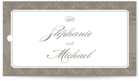Formalities Wedding Favor Tags