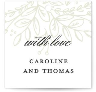 Graceful Wedding Favor Tags