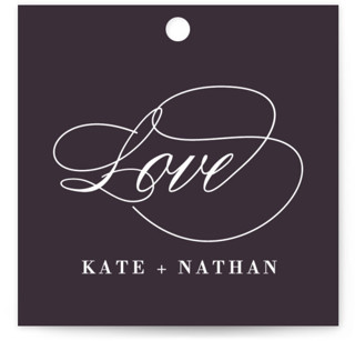Promise Wedding Favor Tags