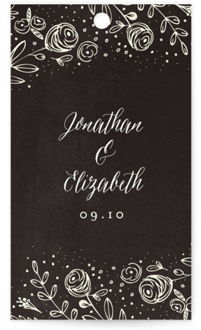 The Wedding Bouquet Wedding Favor Tags