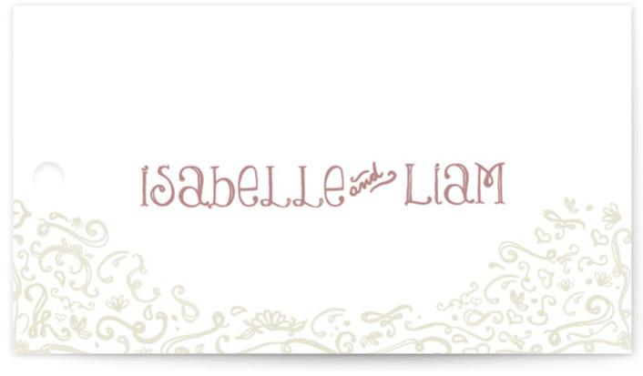 Wedding Favor Tags Minted