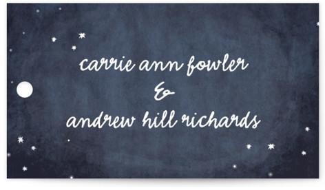 Constellations Wedding Favor Tags
