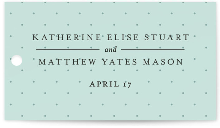 This is a landscape classical, elegant, formal, monogrammed, green Wedding Favor Tags by Kristen Smith called A Glamorous Affair with Standard printing on Signature in Tag Flat Card format. Add the perfect finishing touch to all of your wedding gifts ...