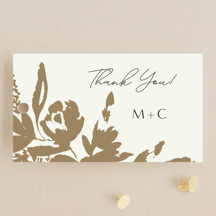 """""""Wedding veil"""" - Wedding Favor Tags in Goldenrod by Chris Griffith."""
