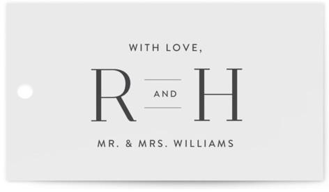 Beloved Wedding Favor Tags