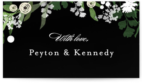 Stacked wedding Wedding Favor Tags