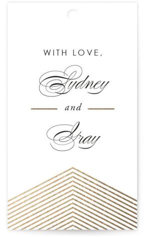 Culmination Wedding Favor Tags