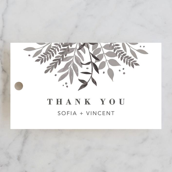 """""""Garden"""" - Wedding Favor Tags in Silk by Joyce Pinheiro."""