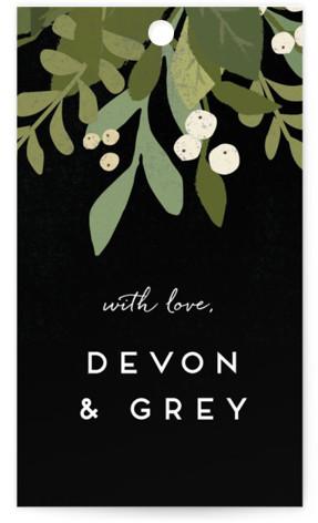 Laurel of Greens Wedding Favor Tags