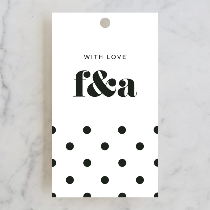 """Letters"" - Wedding Favor Tags in Silk by JoAnn Jinks."