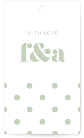 This is a bold and typographic, simple and minimalist, green Wedding Favor Tags by JoAnn Jinks called Letters with Standard printing on Signature in Tag Flat Card format. Add the perfect finishing touch to all of your wedding gifts with ...