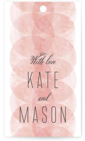 Bliss Wedding Favor Tags