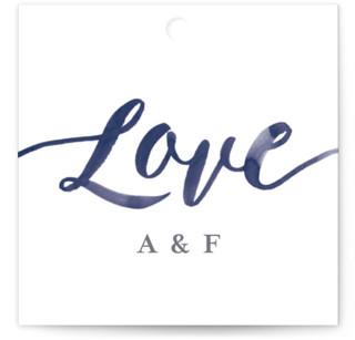 Love Wedding Favor Tags