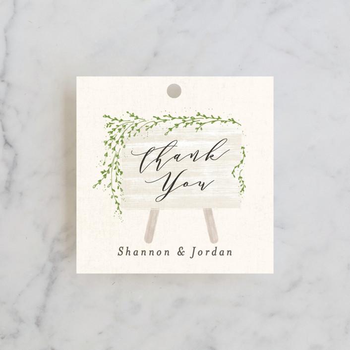 """""""winona"""" - Wedding Favor Tags in Cream by chocomocacino."""