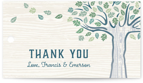 Under the Tree Wedding Favor Tags