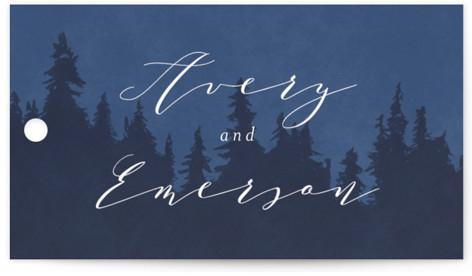 Aspen Wedding Favor Tags