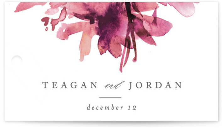 This is a botanical, pink, rosegold Wedding Favor Tags by Lori Wemple called Shimmer with Standard printing on Signature in Tag Flat Card format. Add the perfect finishing touch to all of your wedding gifts with these chic and customizable ...