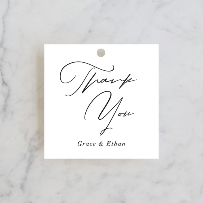 """""""first dance"""" - Wedding Favor Tags in Champagne by Kasia Labocki."""