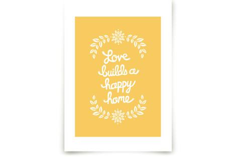Love Builds Art Prints