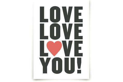 Love You! Art Prints