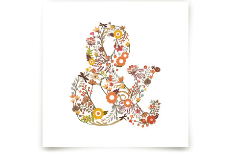 Elegampersand Art Prints