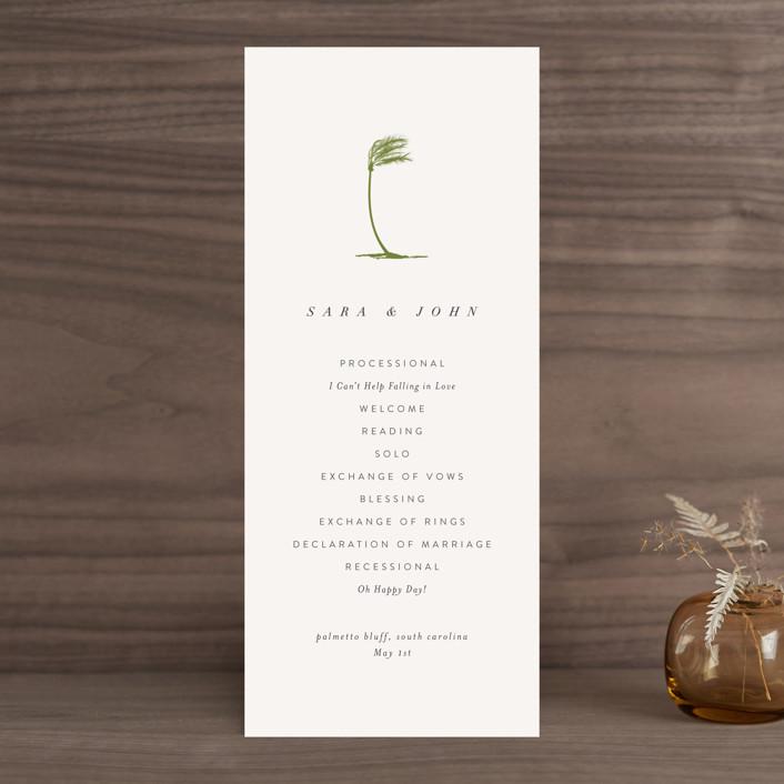 """palmetto"" - Wedding Programs in Palmetto by kelli hall."