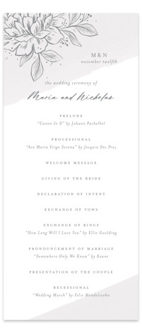 Loving Wedding Programs