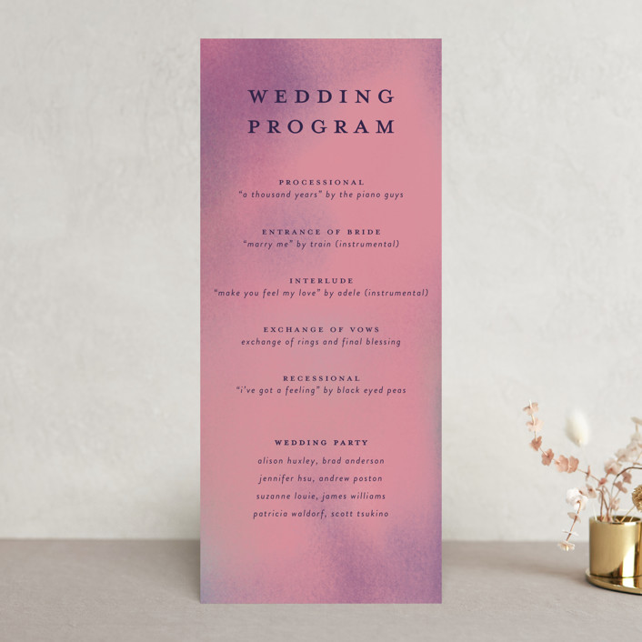 """""""Forest Love"""" - Wedding Programs in Forest by Simona Camp."""