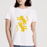Two Tigers Women's Short Sleeve Tee