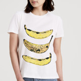 Bananas Women's Short Sleeve Tee