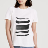 This is a white t shirts for woman by Christi Parks called Simple Style.