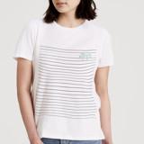 Pretty Striped Women's Short Sleeve Tee