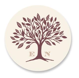 Enchanted Wedding Favor Stickers