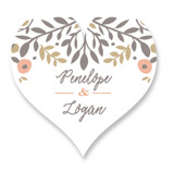 Lover's Floral Frame by Andrea Snaza