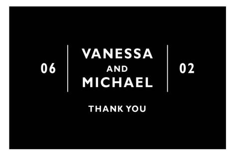Desenfadado Wedding Favor Stickers