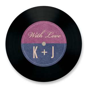 Wedding Vinyl Wedding Favor Stickers