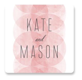 Bliss Wedding Favor Stickers