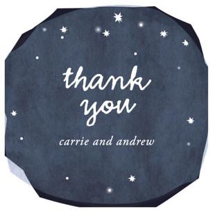 Constellations Wedding Favor Stickers