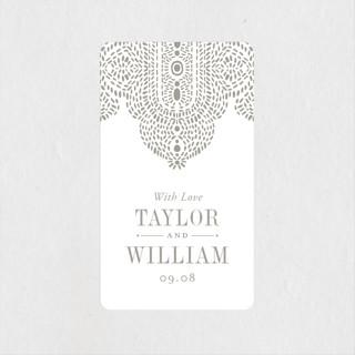 Lavish Affair Wedding Favor Stickers