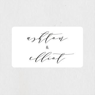 Sparkle + Shine Wedding Favor Stickers