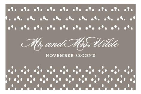 Field Wedding Favor Stickers